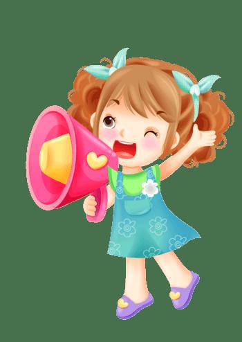 拿喇叭喊的卡通人物_喇叭设计素材_喇叭图片免费下载_佳库网
