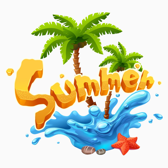 夏天summer字母