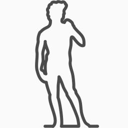 男性人体免费下载 装饰元素 256像素 编号 Png格式 佳库网