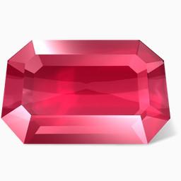 宝石免费下载 装饰元素 256像素 编号 Png格式 佳库网