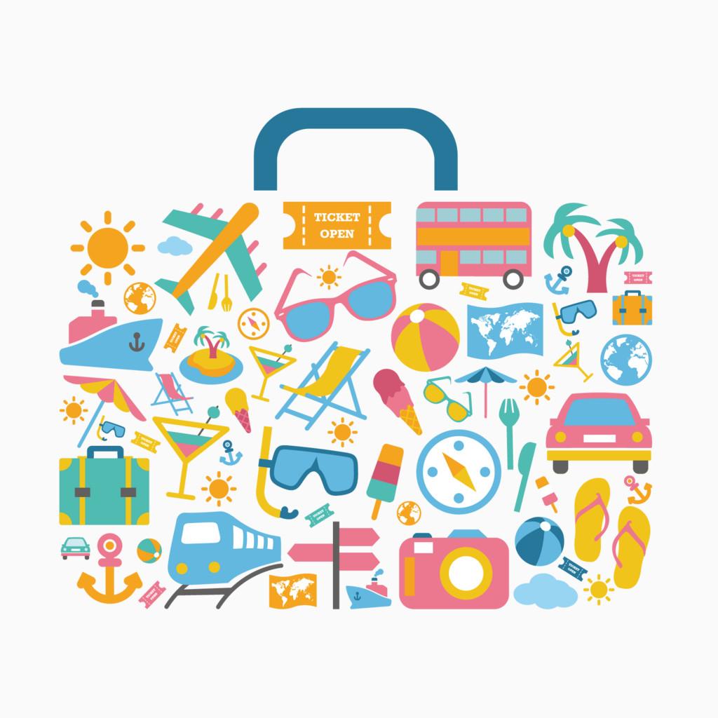 创意旅行箱
