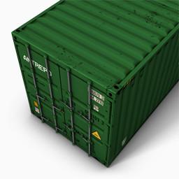 Green2集装箱免费下载 装饰元素 256像素 编号 Png格式 佳库网