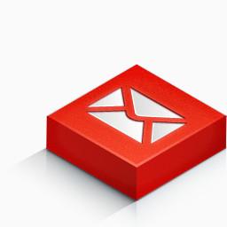 邮件颜色isometric 3d Social Icons免费下载 其他 256像素 编号 Png格式 佳库网