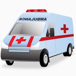 医院救护车免费下载 装饰元素 256像素 编号7779286 Png格式 佳库网