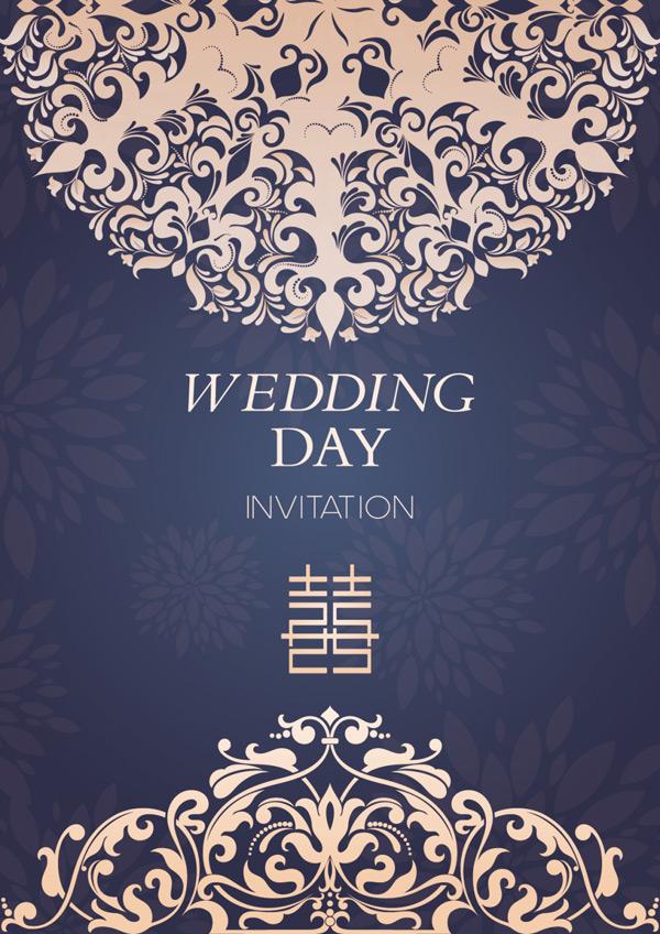 婚礼请帖图片