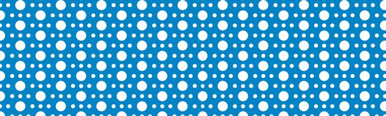 圆点包装纸蓝色背景
