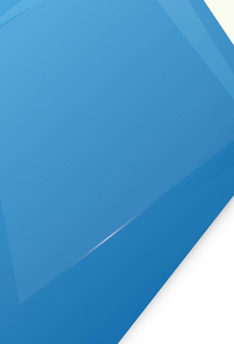 蓝色简约几何背景素材