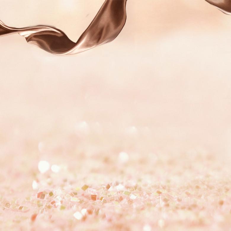 淘宝丝绸巧克力背景