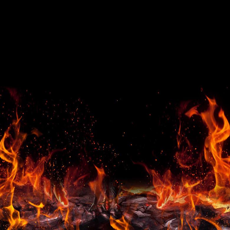 游戏鼠标直通车火焰主图