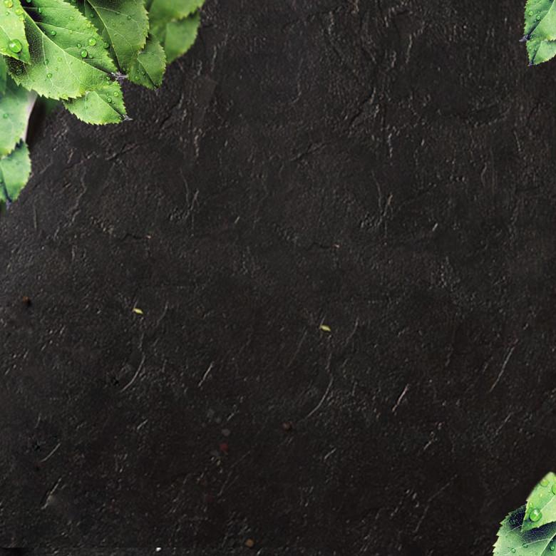 黑色油漆质感食品促销PSD分层主图