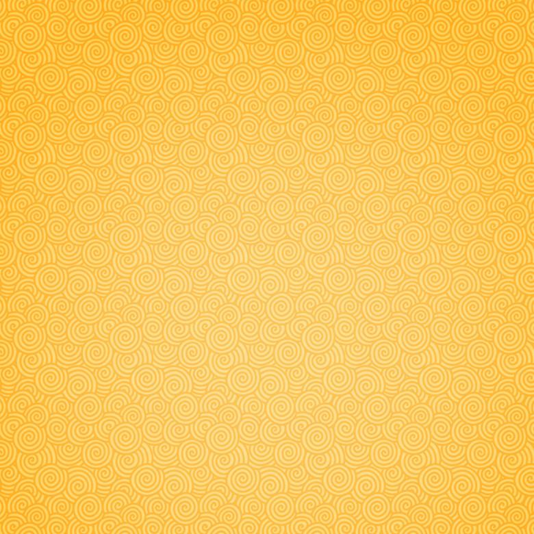 金黄色花纹背景