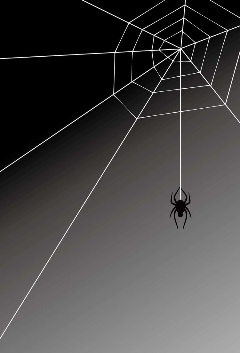黑色蜘蛛网背景素材