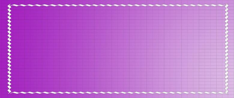 简约边框几何渐变紫色背景