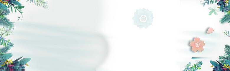 感恩手绘水彩母亲节banner背景