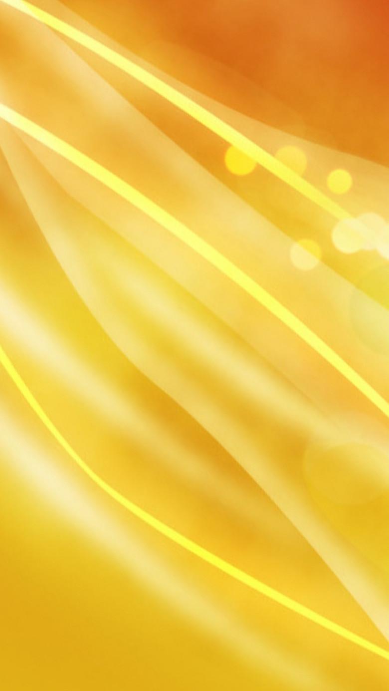 扁平黄色斜线发光圆圈H5背景素材