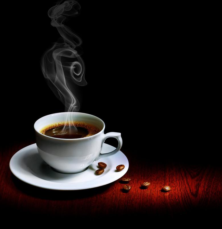 香浓咖啡海报背景