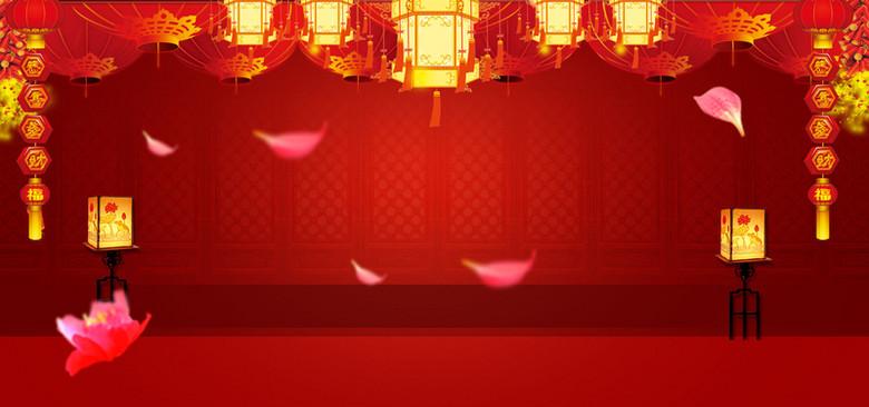 过年春节喜庆海报