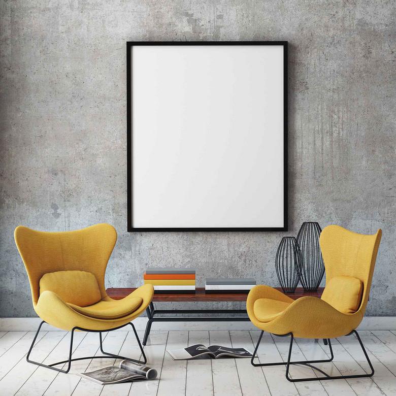 室内休息椅背景素材