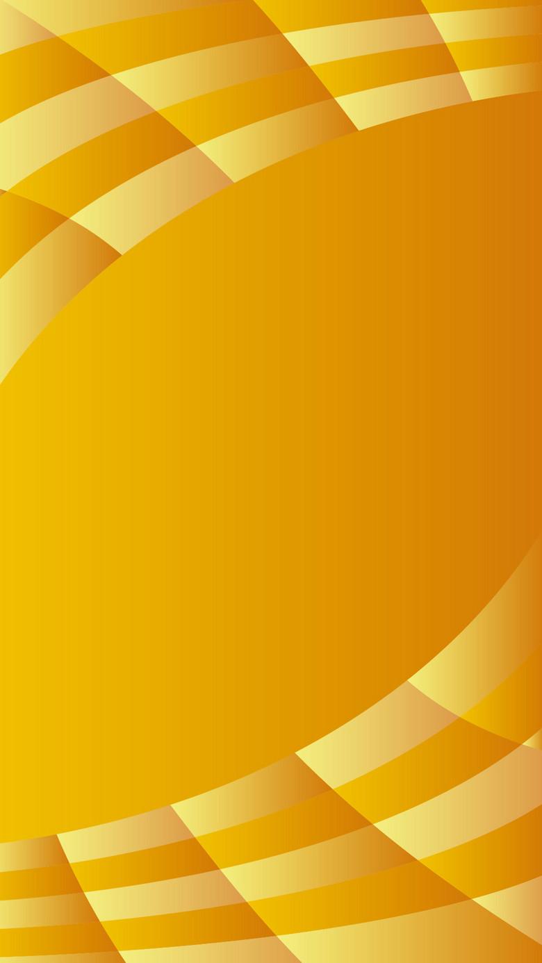 黄色几何H5背景