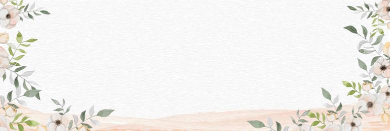 母亲节文艺手绘banner