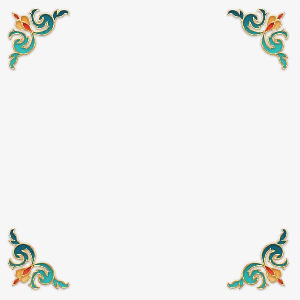 立体复古国潮浮雕装饰3