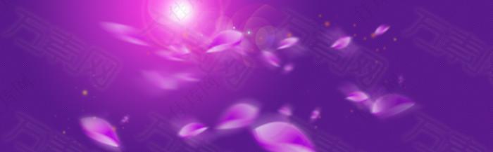 梦幻紫色背景