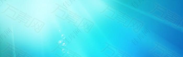 清新高光banner背景