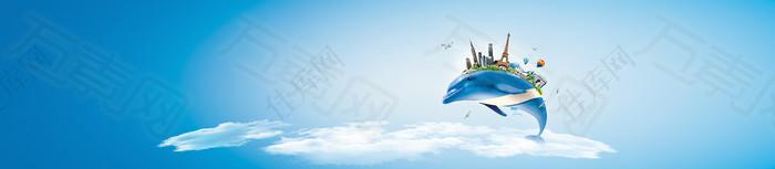 互联网科技背景banner