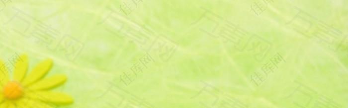 黄绿色背景banner