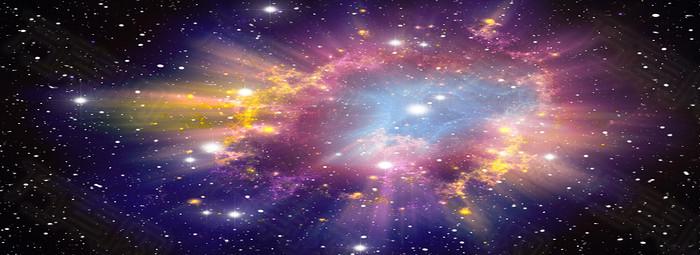 星空漩涡背景