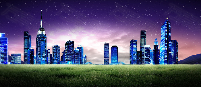 房地产科技商务背景