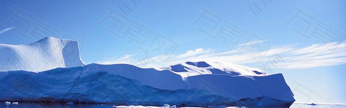冬天 雪地 背景图