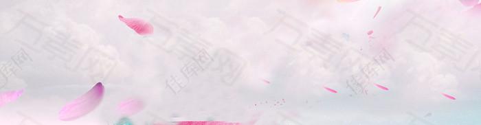 浪漫背景banner