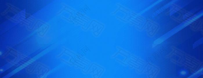 蓝色科技数码线条光束背景banner