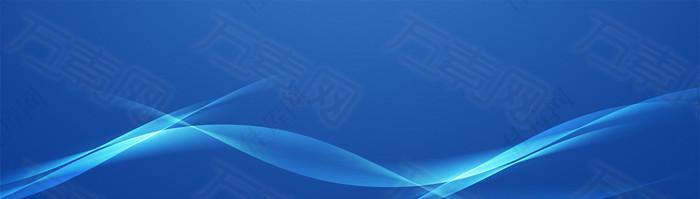 科技商务背景banner设计
