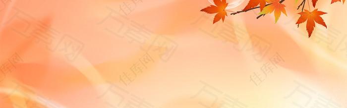 暖色 秋天背景