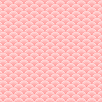 红色祥云底纹背景