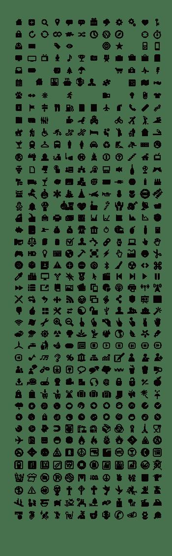600个超实用ICON图标矢量