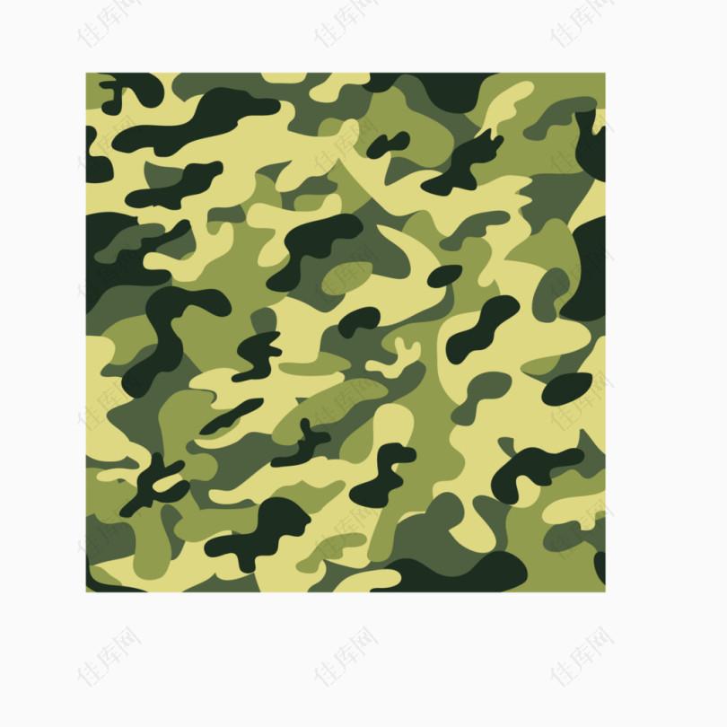 军事迷彩黄绿色图案