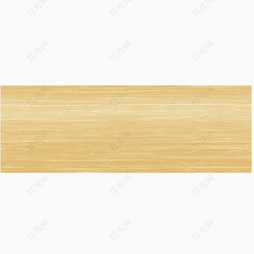 矢量室内地板米黄色矩形木纹