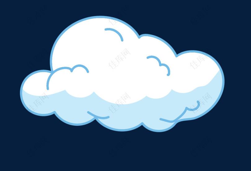 小云朵图标