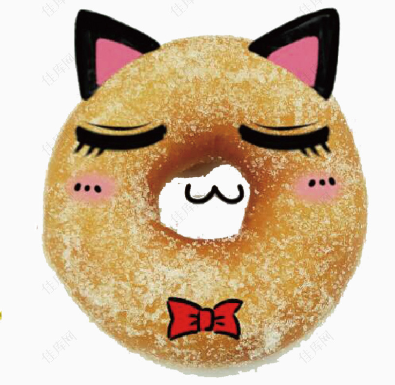 闭眼睛甜甜圈