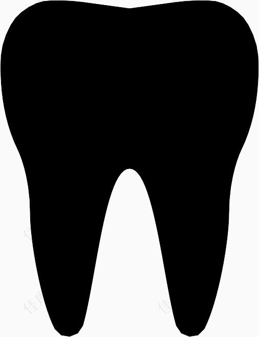 牙齿健康图标