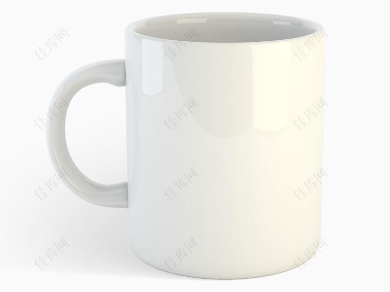 白色杯子素材图片