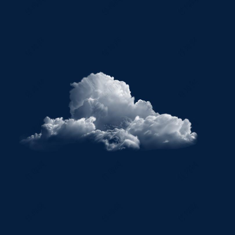 云彩PNG透明图片素材