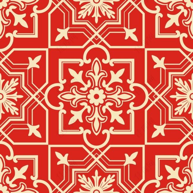中国传统元素底纹
