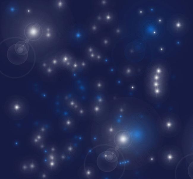 梦幻效果光晕和星光笔刷