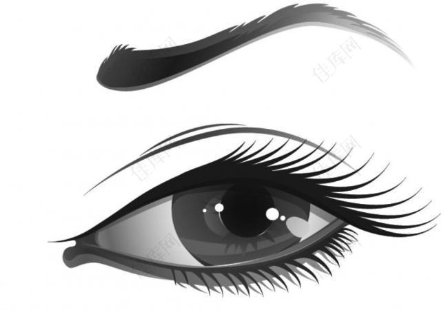 卡通眼睛笔刷图片
