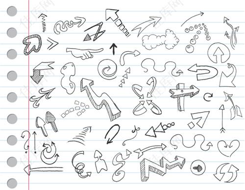 卡通手绘矢量素材