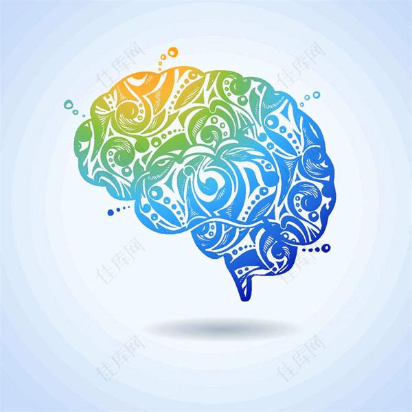 大脑思维图标